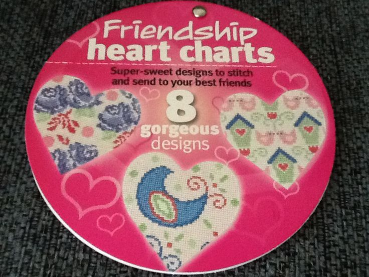 Friendship Heart Charts Hardcopy