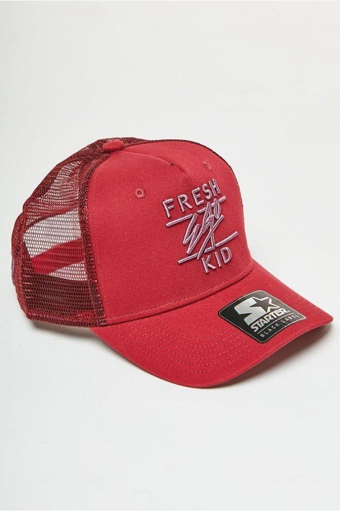 550326e2037 Mesh Trucker Cap Red #freshegokid | SEEK Attire | Fresh Ego Kid | Men's  Headwear | Pinterest
