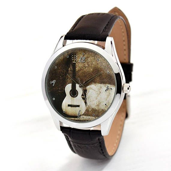 ef236926b752 Classic Guitar Watch Guitar Lover Gifts Music Lover Gifts
