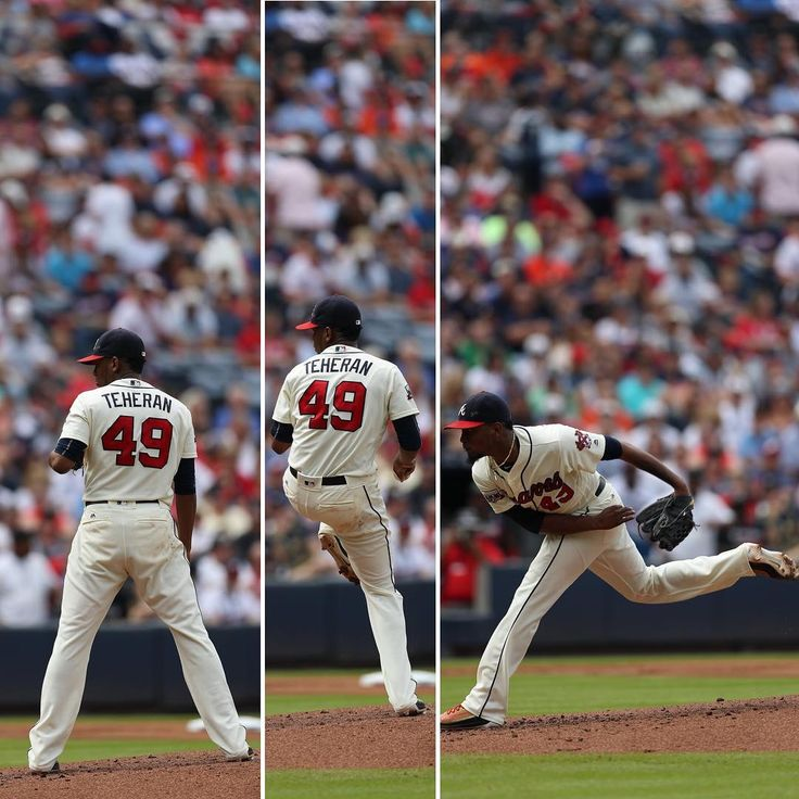 12 strikeouts for @julioteheran today!  #TurnerFieldFarewell