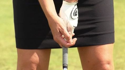 Annika Sorenstam shares a drill that will help you feel how to release the club properly to strike the ball with more power. Visit swingfix.golfchannel.com to get your custom instructional video tips!