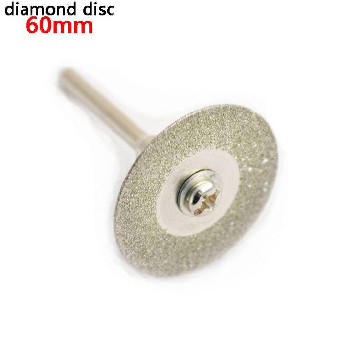 60mm diamond cutting disc for mini drill dremel tools accessories diamond disc steel rotary tool circular saw abrasive saw blade