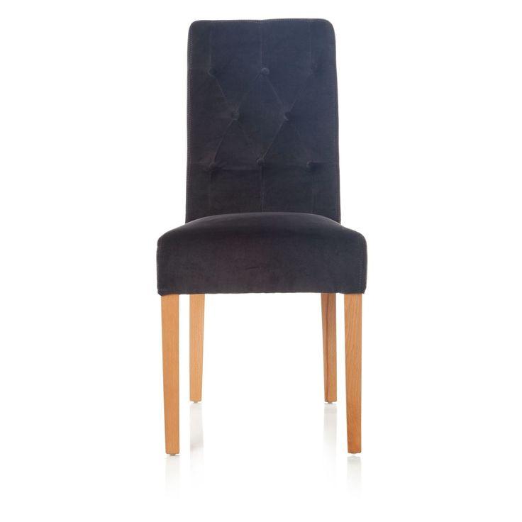 Stuhl, Chesterfield Stil, Bezug Baumwollsamt Jetzt bestellen unter: http://www.woonio.de/p/stuhl-chesterfield-stil-bezug-baumwollsamt-2/