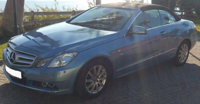2011 Mercedes Benz E220 CDi BlueEFFICIENCY cabriolet 4 seater convertible sports