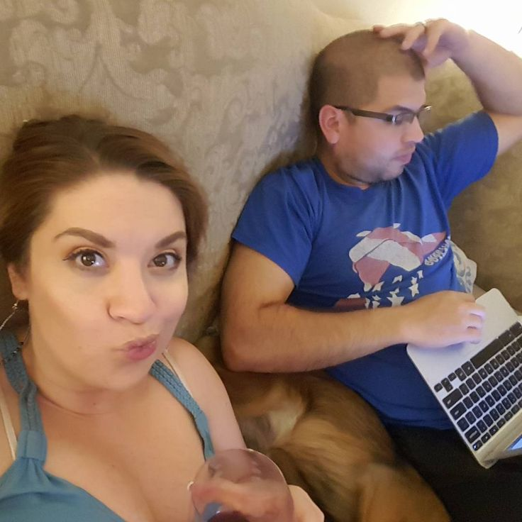 #shores365 Tuesday night wine �� and tiny homes tv show ��... and some work ��  #justmarried #newlyweds #potd #love #shores #marriedaf #marriedlife #wine #tinyhouse #hubby #tuesday #nightlife #newlywedsthefirstyear #husbandandwifeteam #couplesofinstagram #couplesselfie #isaidyes #married #365dayphotochallenge #365picsin2017 http://gelinshop.com/ipost/1516410935172999232/?code=BULX7YUgShA