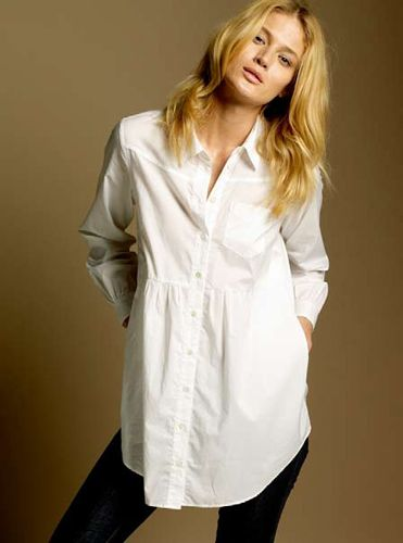 Longline Shirt — April 2008  Vote Now: http://www.facebook.com/CountryRoad/app_139067262889625..The best white tunic..