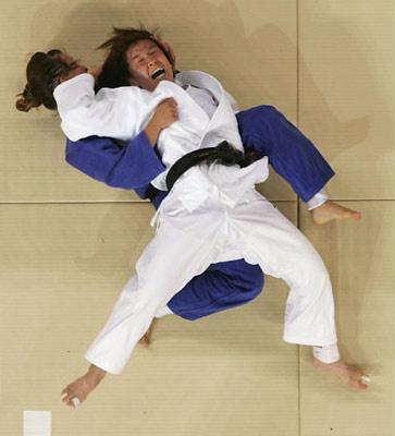 Judo classes.