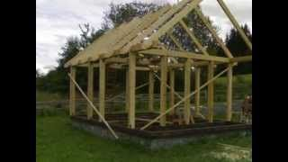 #SRUB - jak vyrostl domeček :-) , #dřevostavba , zahradní domek , #chata , http://truhlarradekherman.webnode.cz