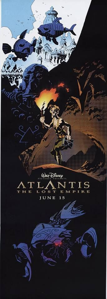 Mike Mignola-Atlantis Disney