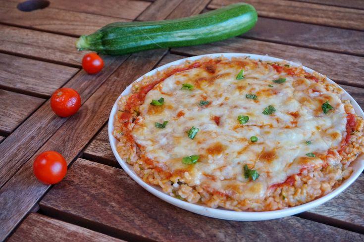 Pizza di riso alle zucchine – Basilico secco
