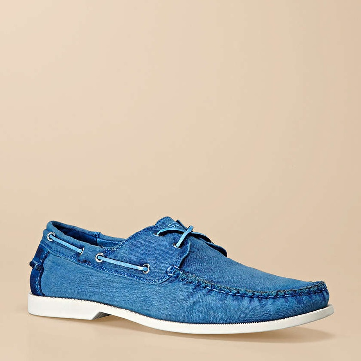 Fossil® Homme Chaussures:Homme  Chaussures bateau en toile