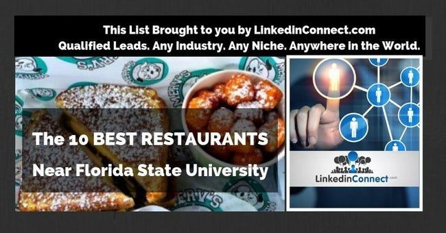The 10 Best Restaurants Near Florida State University Florida State University Florida State Florida