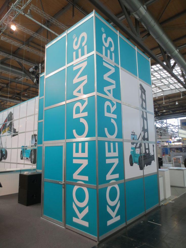 Kronecranes - Cemat 2014 - Hannover - Messeprojekt - Messe - Messebau - Scheurle Messebau - Exhibitions stands design - Exhibition - Trade fair - stand
