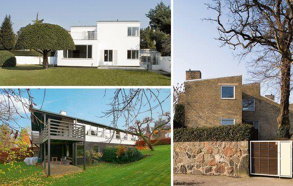 Stjernearkitekter i dansk designs guldalder i 1950'erne som Arne Jacobsen, Børge…