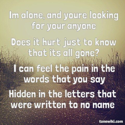 "-- #LyricArt for ""Rain"" by Hollywood Undead"