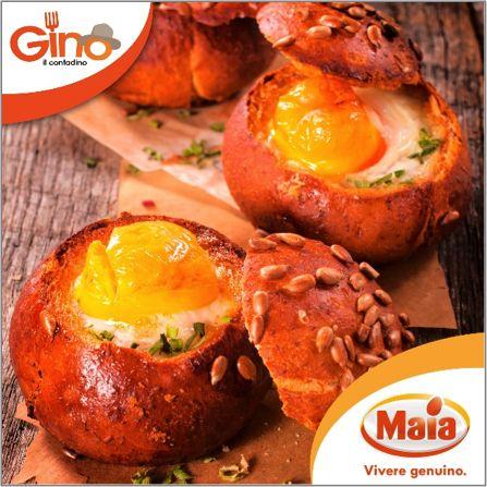 Il #panino con dentro l'#uovo... una #ricetta semplice per tutti i #gusti!
