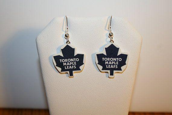 Toronto Maple Leafs Earrings $8