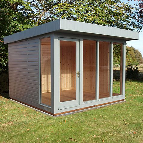Buy Crane 3 x 3m Garden Studio, FSC-certified (Scandinavian Redwood) Online at johnlewis.com