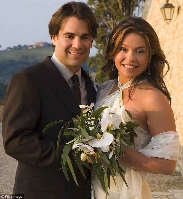 The 47-year-old Rachael Ray Show host married the now 48-year-old musician husband on September 24, 2005, seen here on their wedding day