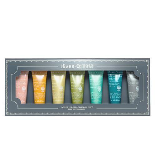 Barr-Co. Soap Shop 6 Piece Mini Hand Cream Gift Set #haircaregiftset,