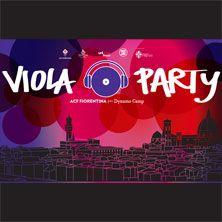 Il 4 giugno Firenze vivrà il suo primo Viola Party, l'evento di beneficenza per Dynamo Camp. Non mancare!
