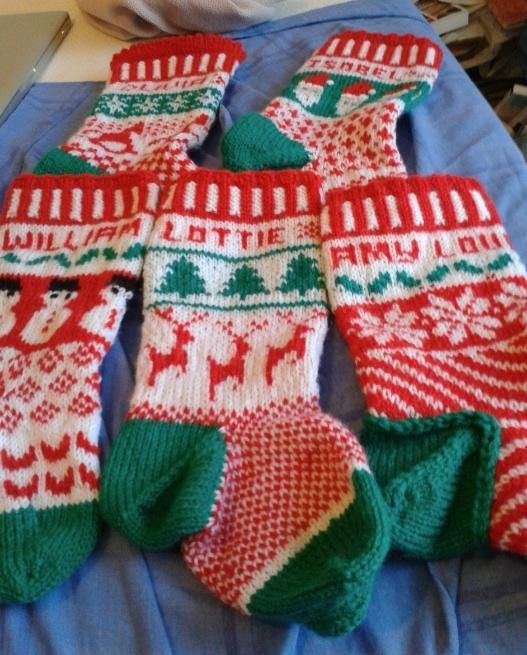 Looking for your next project? You're going to love Fabulous Fair Isle Christmas Stockings by designer trisha2.
