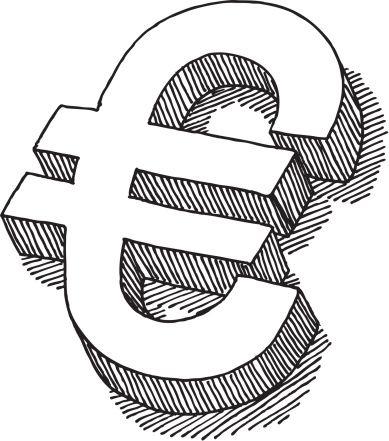 Euro Sign Drawing