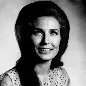 the coal miner's daughter, the first lady of country music, and my #1 favorite female singer alive. or dead...............(loretta lynn)