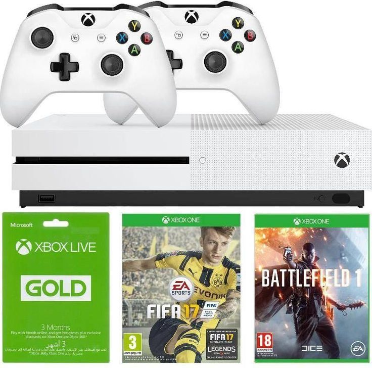 New Offers and Deals: SAR 1349 Offer on Xbox One S Console at Souq.com Saudi Arabia  Welcome to a generation of games and entertainment. Where games push the boundaries of realism. And television obeys our every command.  Experience this line-up of Xbox One S games that include Battlefield 1 as well as Fifa 17. This bundle also includes two controllers and 3 Months Gold Live.  Shipping will start on December 25th and will be delivered to your doorstep on December 26th.  Souq.com Delivers to…