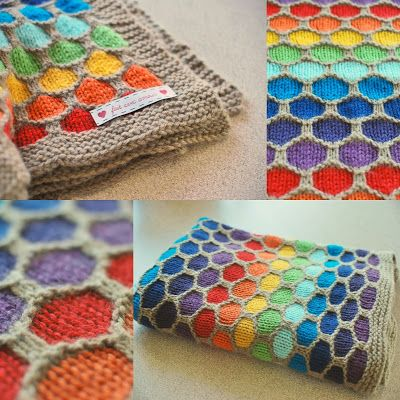 floresita - things I've made : Knitting inspiration - quest for a blanket