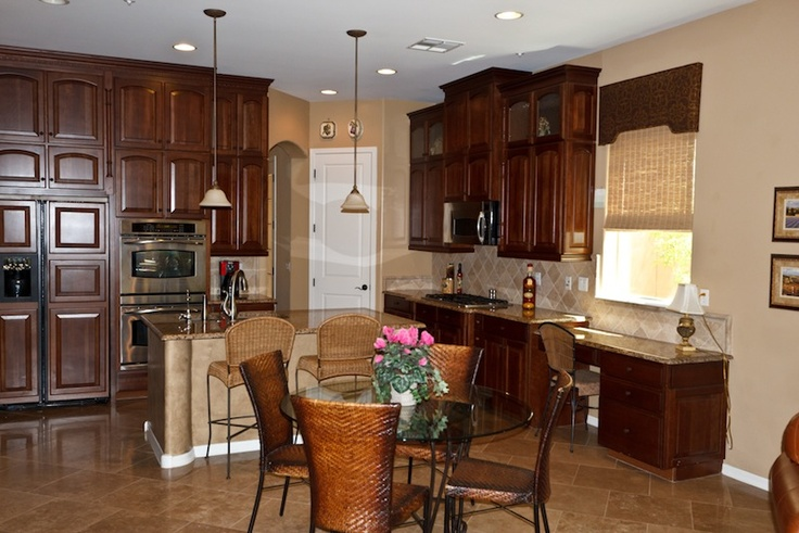 DC Ranch kitchen with upgrades galore. Three bedroom, two bath hom