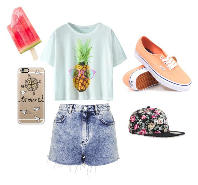 """""""Sumer Dream"""" by cami-garcia-2 on Polyvore featuring Topshop, Vans, Casetify and Alex and Chloe"""