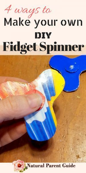 Make your own fidget spinner DIY fidget spinners | kids crafts | homemade fidgets | diy focus toys | handmade fiddle toys | toys for boys | toys for girls | educational toys | fun birthday party favors | hand made fidget spinner without bearings | make yo