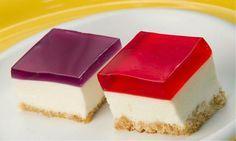 Mini Cheesecake de Gelatina Receita: Experimente! - Uma das mais de 5000 deliciosas receitas de Dr. Oetker, o sucesso garantido!