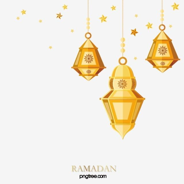 Cartoon Golden Ramadan Lantern Stars Hanging Border Ramadan Moon Muslim Png And Vector With Transparent Background For Free Download In 2020 Ramadan Lantern Ramadan Frame Decor