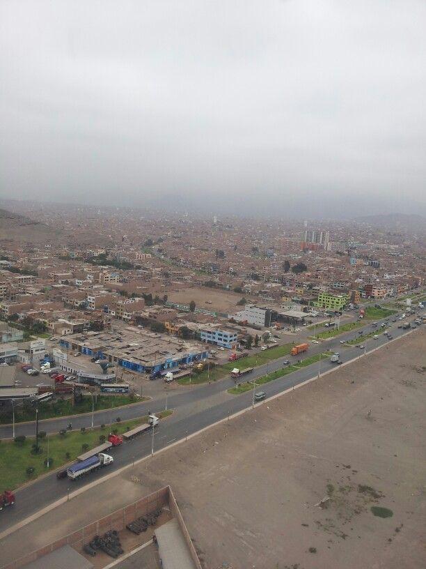 Mayo 6-2014 / desde el avión llegando a Lima