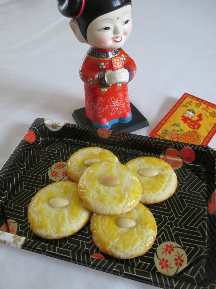 Gong Hei Fat Choy!  Congratulations and be prosperous! Celebrating the year of the rooster with these classic Chinese almond cookies!      1...