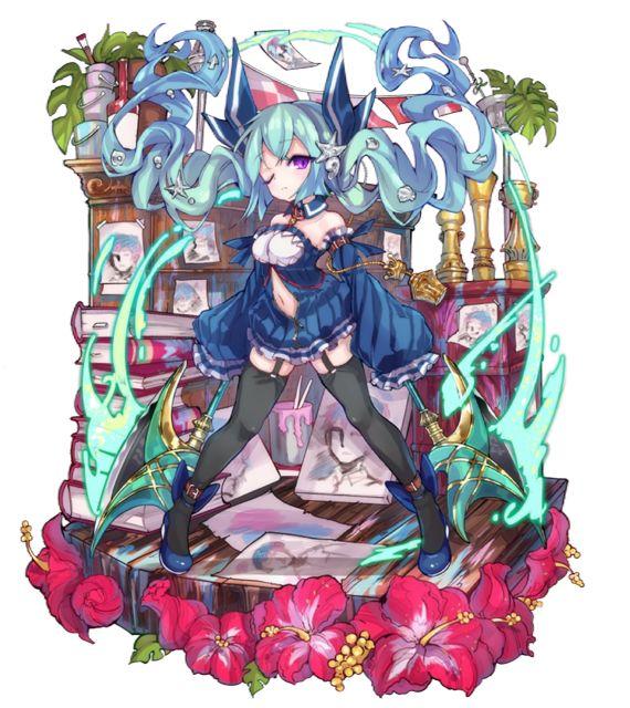 「双牙の鮫姫」チェリーピケ