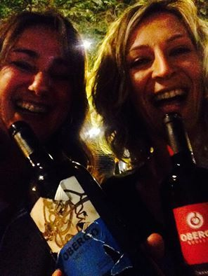 Obergo Merlot, Obergo Caramelos, una rubia y una morena. El vino del Somontano también es cosa de chicas! Deja un sabor diferente...