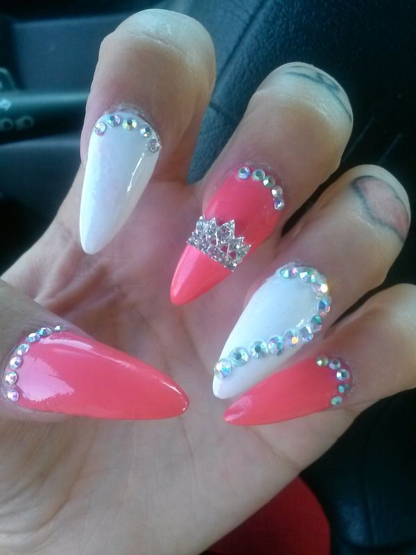 ♔Queen nails SQUARE THEM UP!!!!