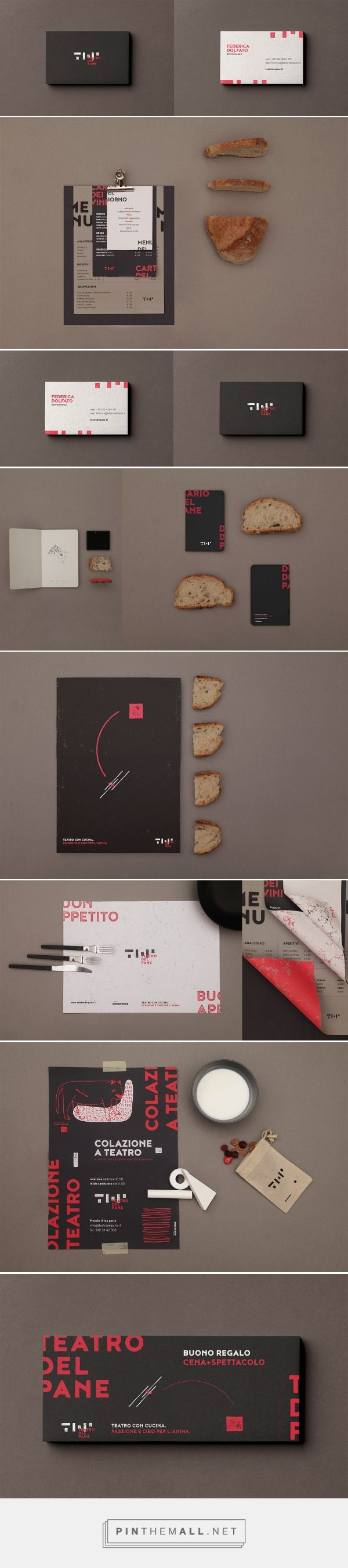 Teatro del Pane Performing Art Theater and Restaurant Branding by Francesco Croce | Fivestar Branding Agency – Design and Branding Agency & Curated Inspiration Gallery