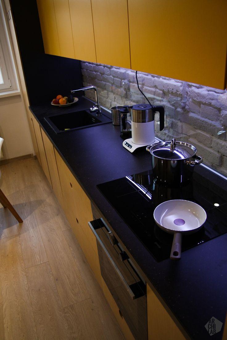 Návrh kuchyne - Interiér bytu, Bratislava, Staré mesto - Kitchen interior by Archilab