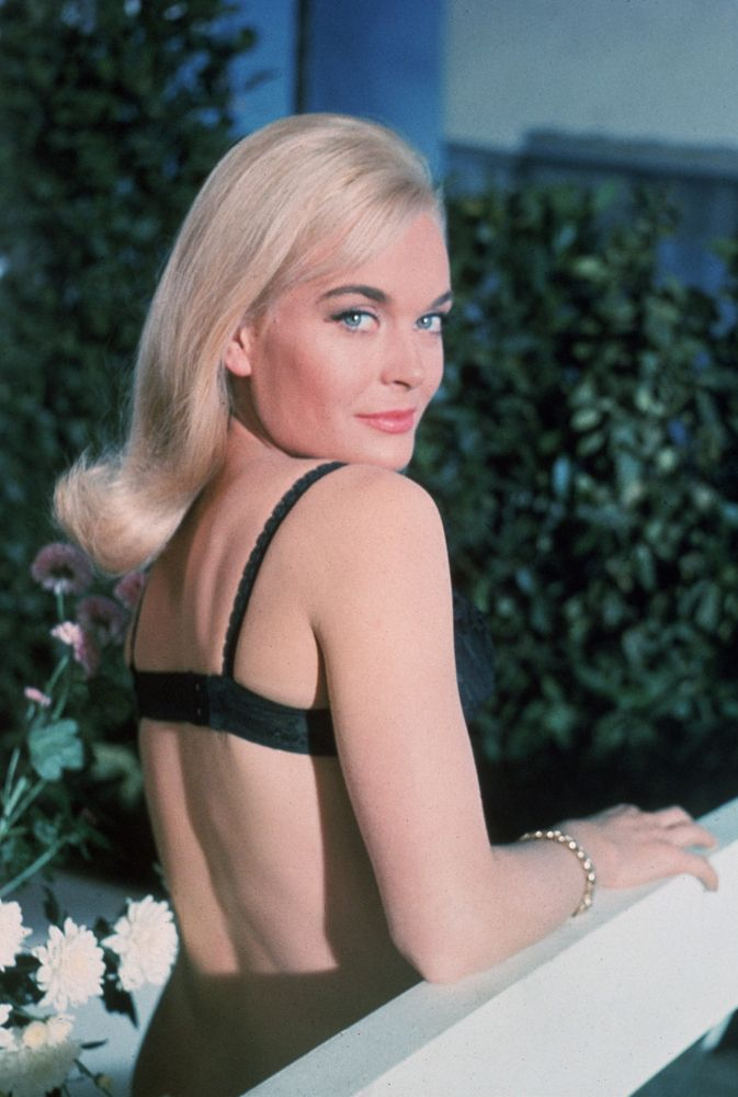 James Bond girl Shirley Eaton as Jill Masterson Goldfinger