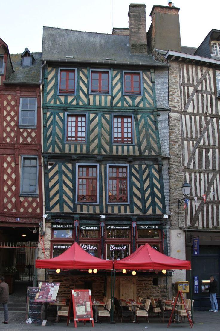 Rennes en Bretaña. Francia