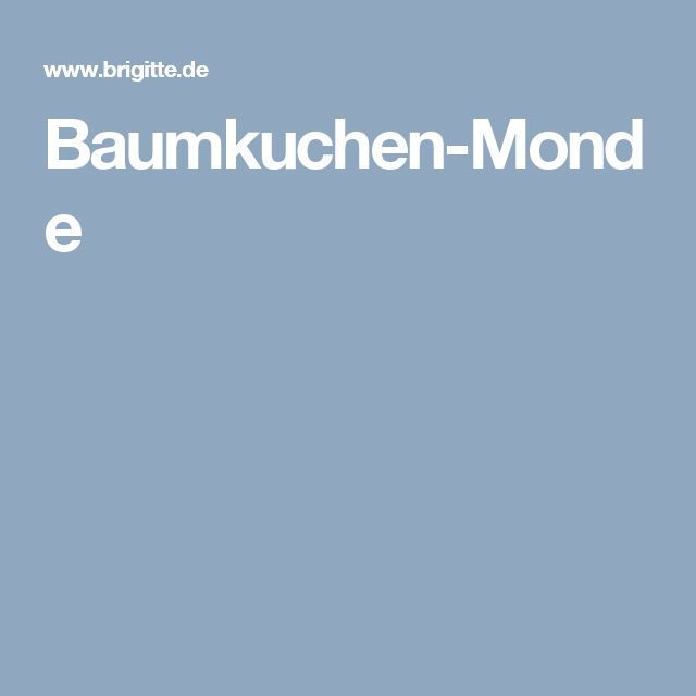 Baumkuchen-Monde