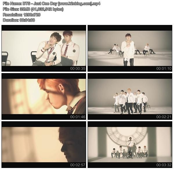MV] BTS – Just One Day [HD 720p Youtube] | BTS / BANGTAN BOYS