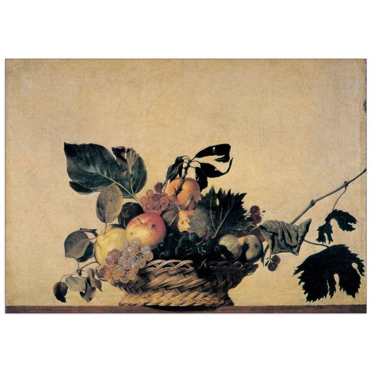 CARAVAGGIO - FRUIT (140x99 cm / 100x70 cm) #artprints #interior #design #art #prints #nature #stilllife Scopri Descrizione e Prezzo http://www.artopweb.com/EC14958