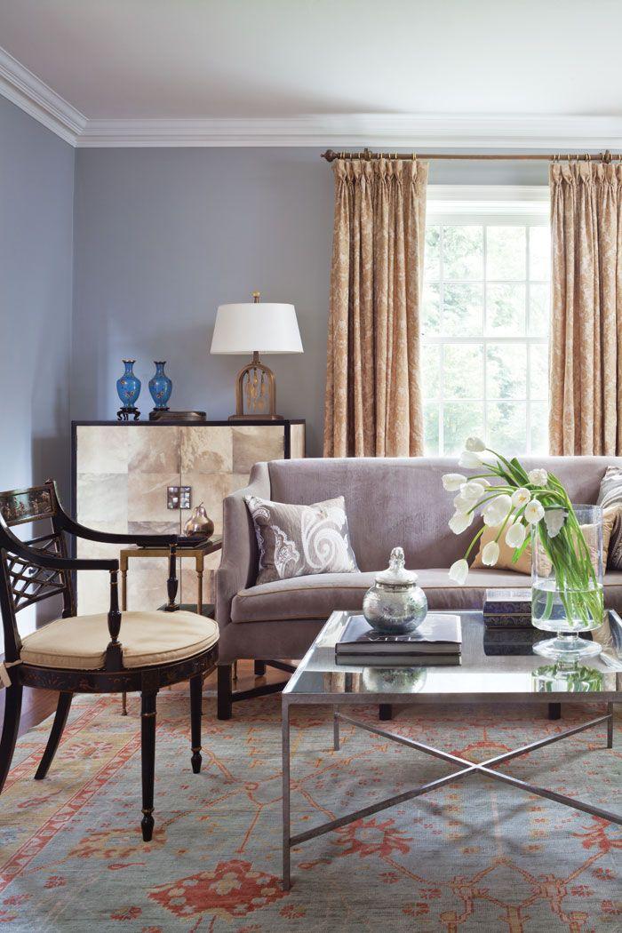 A Georgian Home Fit For Family Colorado Homes Lifestyles Interior Design Traditional Living Room