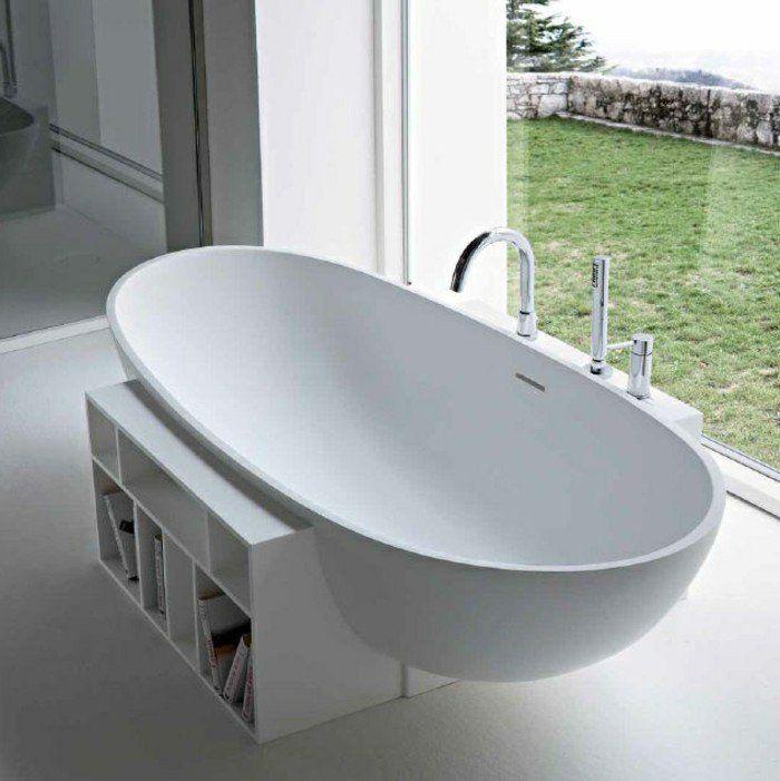 17 meilleures id es propos de baignoire sur pied sur for Salle de bain avec baignoire sur pied