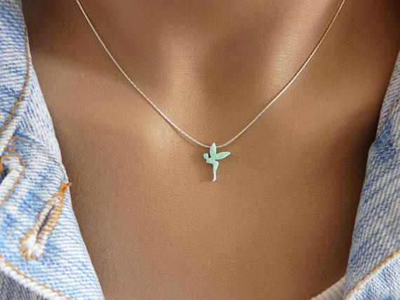 14K Gold Filled Dragonfly Birthstone Necklace 16-17